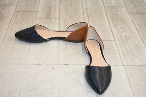 eb99a98a2a4377 Tommy Hilfiger Naree 3 Flats - Women s Size 7.5M - Dark Blue Tan