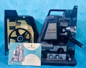 VTG-Bell-amp-Howell-Director-Series-DualLectric-8MM-Auto-Threading-Projector-WORKS