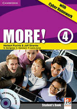 More! Level 4 Student's Book with Interactive CD-ROM with Cyber Homework, Lewis-