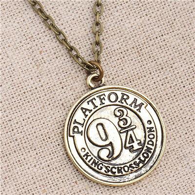 Harry Potter Hogwarts Express Nine and Three Quarters Necklace