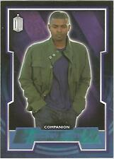 """Topps Doctor Who 2015 - No. 38 """"Mickey Smith"""" Blue Parallel Card #007/199"""