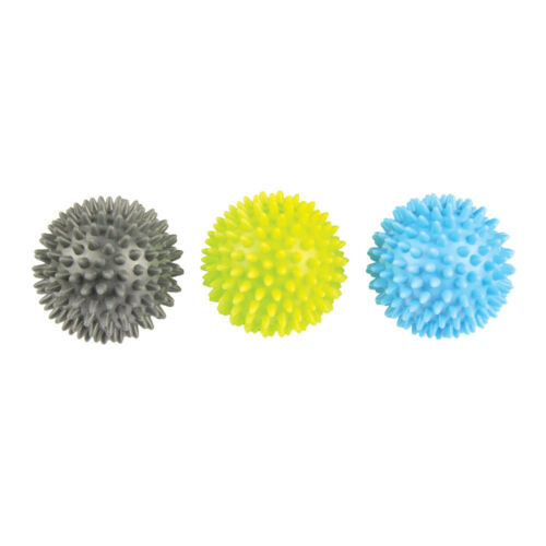 Fitness Mad Spikey Massage Trigger Ball Set Of 3 Self Massage Muscle Tension