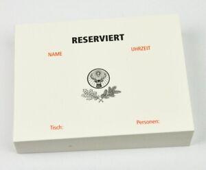Jagermeister-Kellnerblock-Reserviert-Foglietto-Blocco
