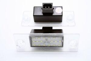 2x-LED-LICENSE-NUMBER-PLATE-LIGHT-AUDI-A3-8L-PRE-FACELIFT-CANBUS