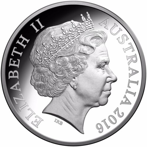 2016 50th ANN OF DECIMAL CURRENCY ROUND 50c SILVER PROOF
