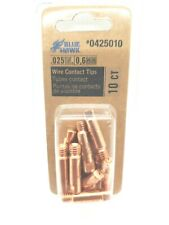 """# 0425012 Blue Hawk .035/"""" // 0.9mm Wire Contact Tips Save on 2+ 10 Per Pack"""