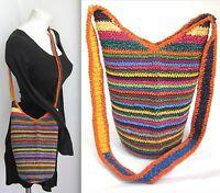 Mexican Handbag Cross Body Shoulder Hippie Bag Small Festival Crochet Purse