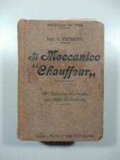 Pedretti, Manuale completo del meccanico chauffeur, Hoepli, 1916