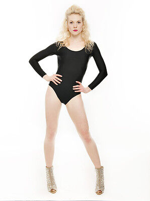 Beyonce Single Dance Halloween Witch Fancy Dress Black Leotard Outfit By Katz