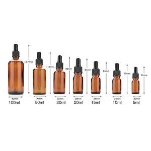 Reactivo-liquido-de-vidrio-ambar-5ml-100ml-Botella-Pipeta-cuentagotas-Aromaterapia-uno