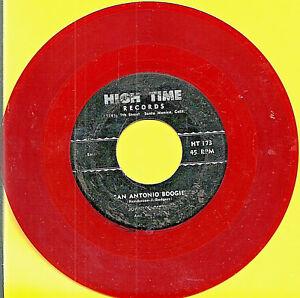 JOHNNY-GITTAR-SAN-ANTONIO-BOOGIE-ROCKABILLY-COUNTRY-BOPPER-RED-VINYL-45-RPM