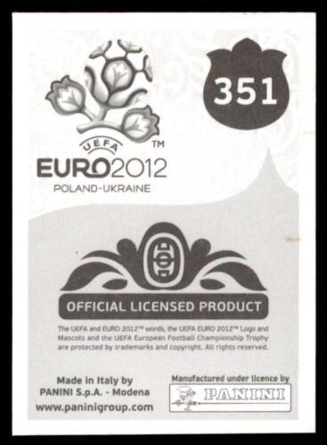 351 Panini euro 2012-Seamus Coleman Irlanda no