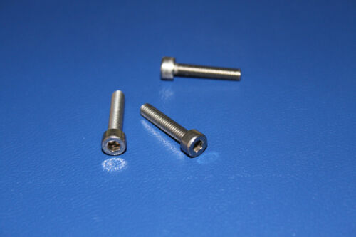 Zylinderkopfschrauben D 912 50 St M3x20 Edelstahl  Innensechskant  V2A  M 3