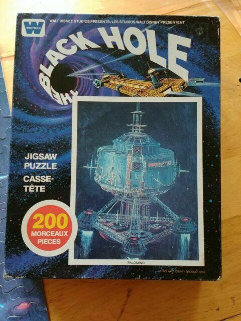 Vintage 200 Piece The Black Hole Puzzle Whitman Disney ...