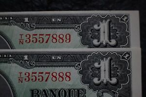 1937-1-Dollar-Coyne-Towers-2-Consecutives-rare-T-N-888-9-BC-21d