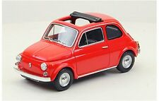 Fiat 500F Open Soft Top 1965 Red 1:43 Model 44462 EBBRO