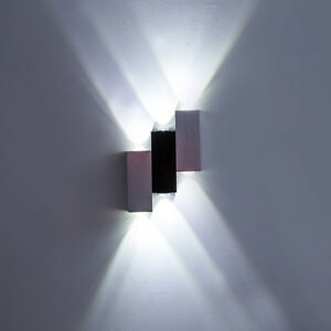 Dimmable-6W-LED-Wall-Fixture-Lamp-Up-Down-Light-Modern-Decor-Lighting-Bedroom