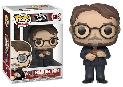 Funko Pop Director Guillermo Del Toro 666 Vinyl Figure 889698318396 Ebay