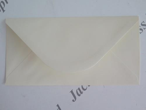 Cream or White Cardmaking Crafting 220 x 110mm 40 x DL Envelopes Gummed