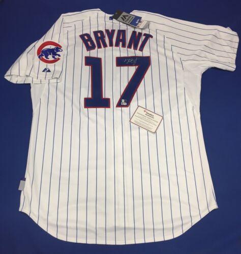 high-quality Kris Bryant Signed Majestic Chicago Cubs Baseball Jersey MLB  Fanatics ddf355caf
