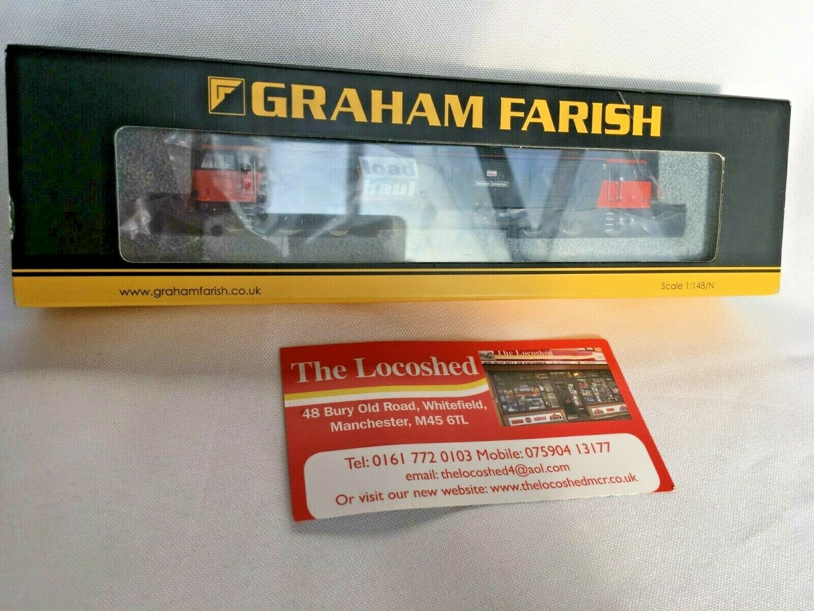 Graham Farish 371-353 BR Class 60059  Swinden Dalesman in Loadhaul N Gauge