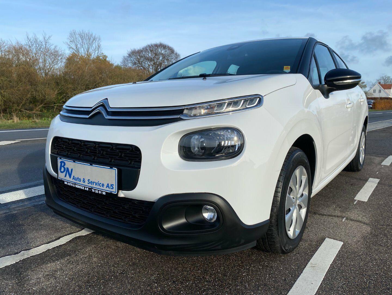 Citroën C3 1,6 BlueHDi 75 Feel 5d - 102.500 kr.