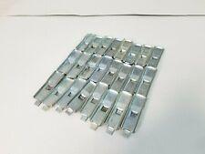 Ask Republic Style Steel Shelf Clips Industrial Metal Shelving Hooks Lot Of 24