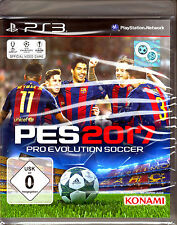 Pro Evolution Soccer 2017 PS3 Spiel (Sport,PES 17 Fußball) NEU