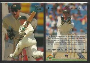 IAN HEALEY 1995 FUTERA CRICKET ASHES ELITE CARD No 9