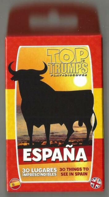 Espana 30 Things to See in Spain Top Trumps Card Game