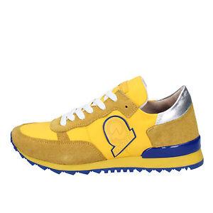 scarpe-donna-INVICTA-35-EU-sneakers-giallo-camoscio-tessuto-AB53-35