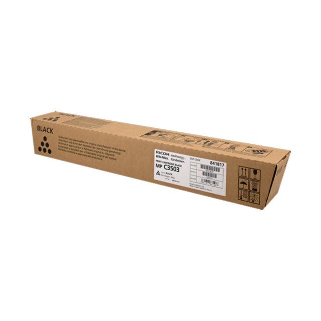 ORIGINALE TONER RICOH 841817 C3503 BK NERO PER Ricoh Aficio MP-C3004SP