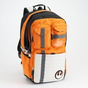 New Star Wars Backpack Rebels Logo Men Women Schoolbag Travel Bag  - UK Seller