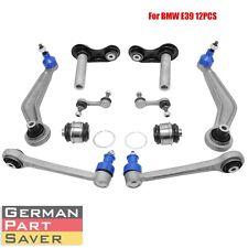 New 12PCS Rear Suspension Control / Trailing Arm & Bushing Kit for BMW E39