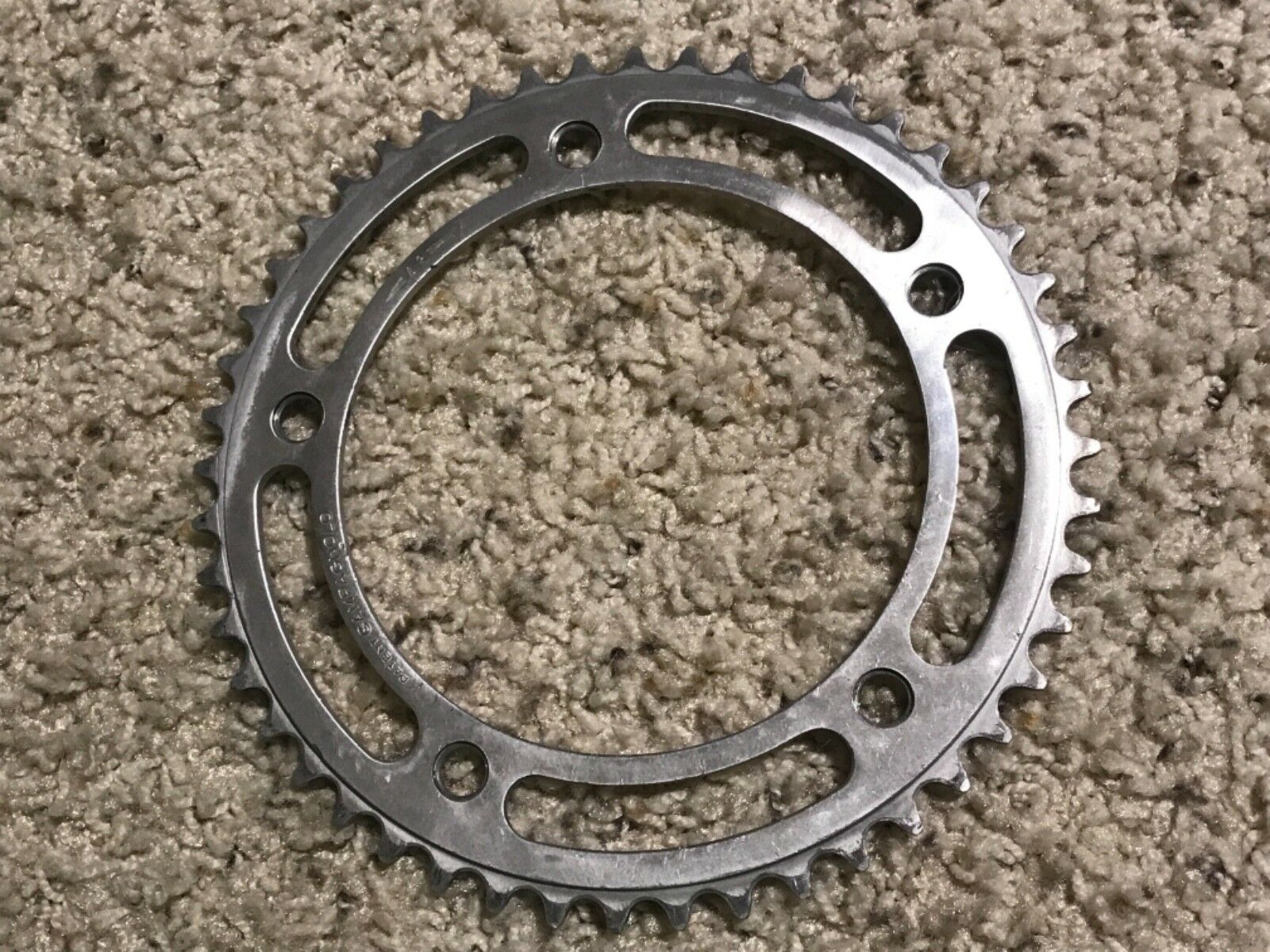Campagnolo Record Pista 48T chainring 151BCD vintage old school