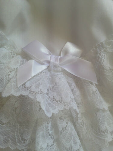 LITTLE BABY GIRLS LACE /& BOW FRILLY KNICKERS//PANTS FOR CHRISTENING//WEDDING//PARTY