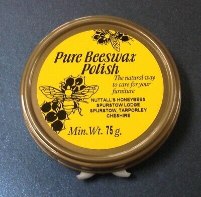 Traditional Pure Beeswax Natural Wax, Leather Furniture Wax Polish