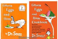 Dr. Seuss's Green Eggs And Ham & Green Eggs And Ham Cookbook (hc) 2 Book Set