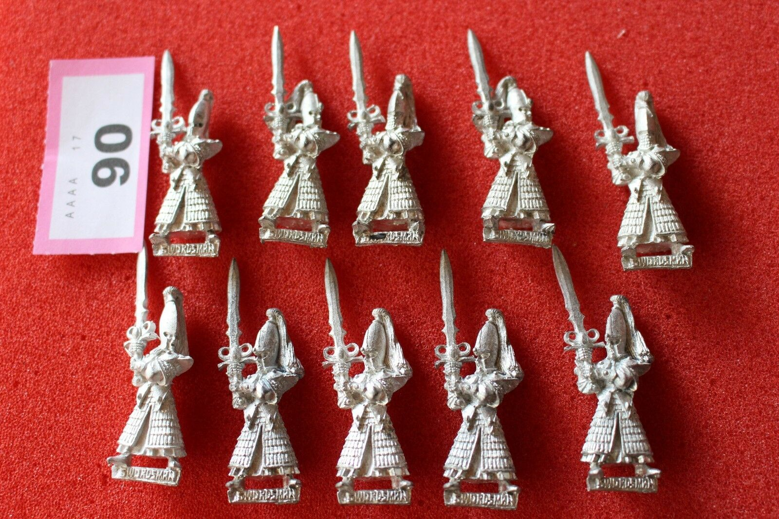 Games Workshop Warhammer High Elf Swordmasters Warriors Miniatures Regiment Army
