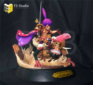 Details About F3 Studio Charlotte Cracker Resin Figure Statue Gk One Piece Model Kits Sd Scale