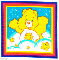 7.5 Care Bears Funshine Bear Character Novelty Fabric Applique Iron On