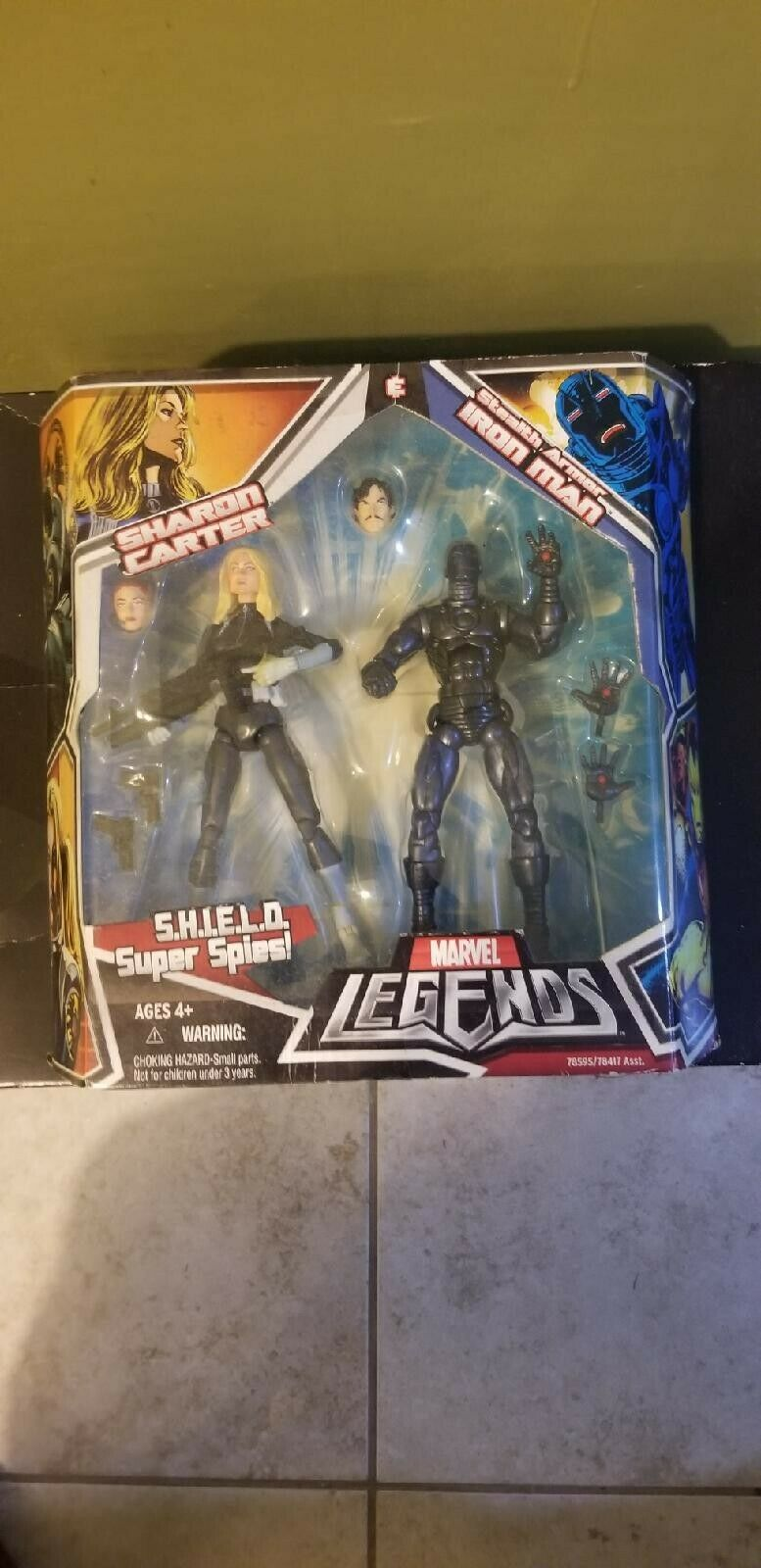 Marvel Legends Shield Super Spie