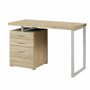 Phenomenal Details About Monarch Specialties 48 Inch Industrial Design Office Computer Desk Natural Home Interior And Landscaping Dextoversignezvosmurscom