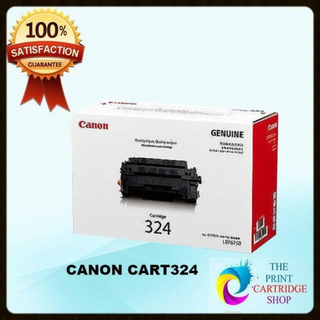 New & Original Canon CART324 Black Toner Cartridge LBP6750DN LBP6780X 6K Pages