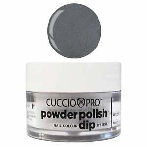 Cuccio-Pro-Powder-Polish-Nail-Acrylic-Dipping-Powder-Grey-With-Mica-14g-Or-45g