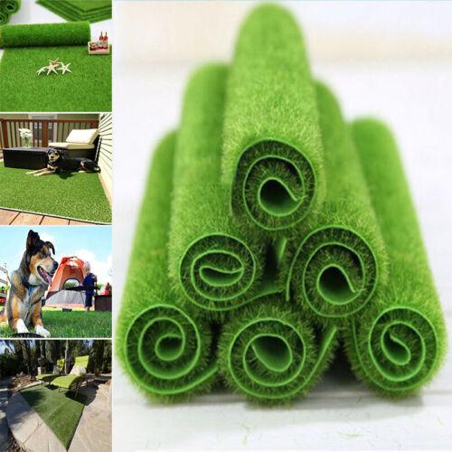 4X Artificial Faux Garden Turf Grass Lawn Moss Miniature Craft Dollhouse Decor
