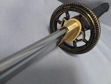 "41"" MUSASHI Handmade Samurai Katana Sword 1060 High Carbon Steel real hamon"