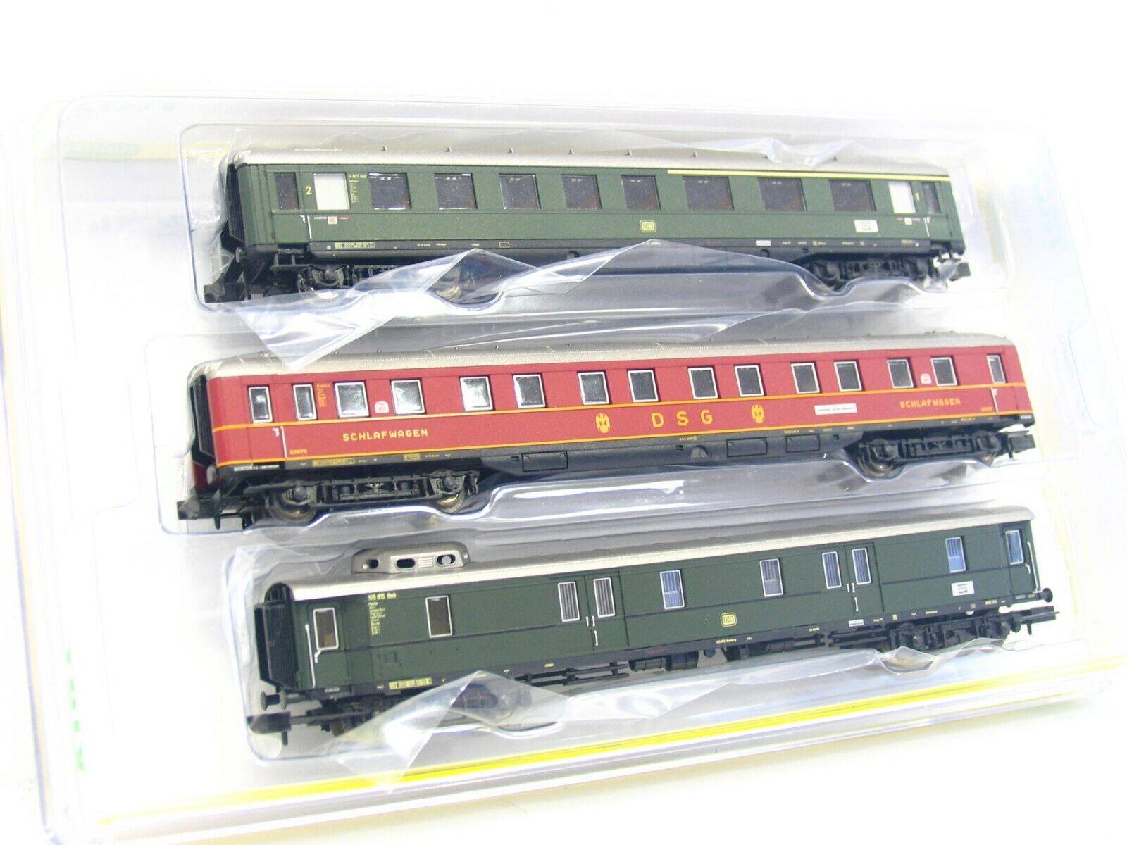 Minitrix N N N 15729 3er Set Schnellzugwagen DB OVP (RB7592)    Lassen Sie unsere Produkte in die Welt gehen  0835d4