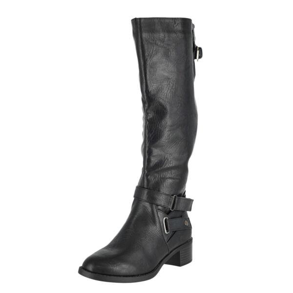 Easy Street Mesa schwarz Damenschuhe Riding Boot Größe  6m  Größe    181223
