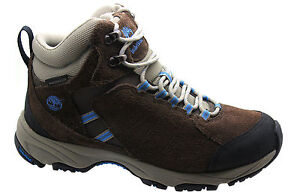 Timberland D56 Mid 3840a Boots Waterproof Womens Tilton Suede Leather Brown rqczr7TSO